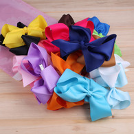 20 Pcs 6&#39&#39 Infant Baby Girl Large Boutique Hair Bows Alligator Clips For Teens Girls Women