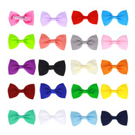 20 Pcs 2.75 inch Baby Girl Boutique Grosgrain Ribbon Hair Bows Alligator Clips For Teens Kids Toddlers Children(2.75 Inch)
