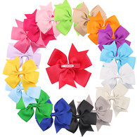 18 pcs 4 &#34  Boutique Pinwheel Girls Hair Bows Hair Clips For Baby Girls Toddlers