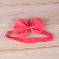 12Pcs Chiffon Hair Bows Hair band Headband For Newborn Baby Girls Toddlers