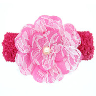 4 Pcs 4 &#34 Flower Hair Bows Hair band Headband For Newborn Baby Girls Toddlers