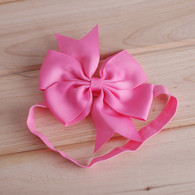 18 pcs 4 &#34 Pinwheel Hair Bows Hair band Headband For Newborn Baby Girls Toddlers