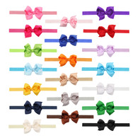 20 pcs  3 &#34 Hair Bows Hair band Headband For Newborn Baby Girls Toddlers