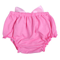 Pink Ruffle Bloomer Diaper Cover for Baby Girls Toddlers