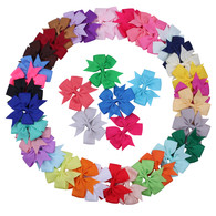 Hair Bows for Girls Baby 40 pcs 3 inch Toddlers Infant Hair Clips Hair Clips Barrette